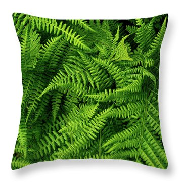 Spring Salad Throw Pillow