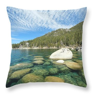 Spring Shores  Throw Pillow
