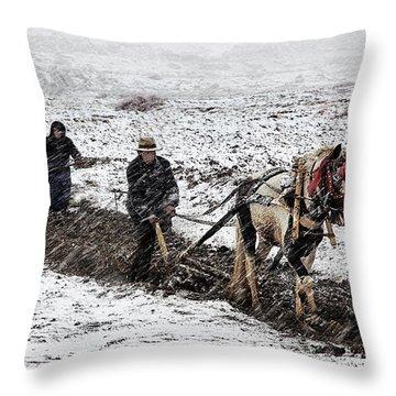 Farming Throw Pillows
