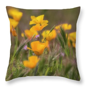 Throw Pillow featuring the photograph Spring Softly Calling  by Saija Lehtonen