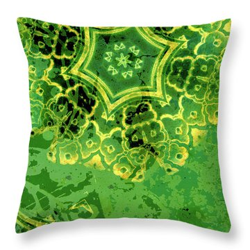 Spring Sprung Throw Pillow by Bonnie Bruno