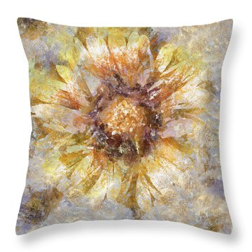 Spring Sunshine Throw Pillow by Shirley Stalter