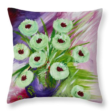 Spring Sweetness Throw Pillow