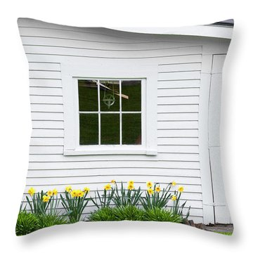 Toolshed Throw Pillows