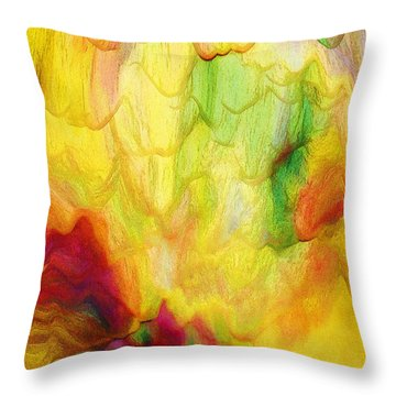 Spring Two 030216 Throw Pillow