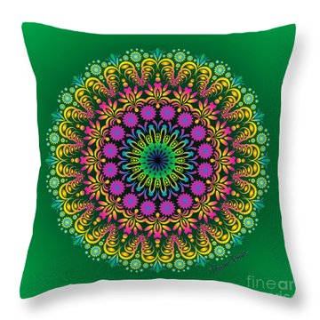 Spring Untitled Throw Pillow