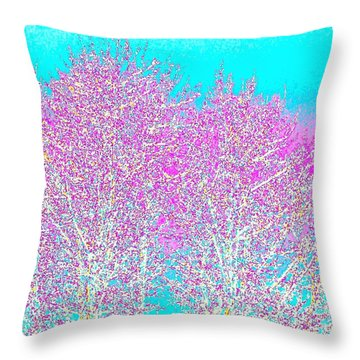 Spring Throw Pillow by Will Borden