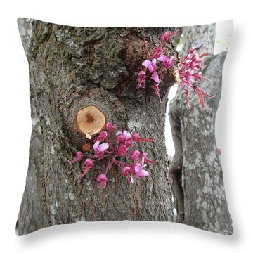 Spring Will Not Be Denied Throw Pillow by Marie Neder