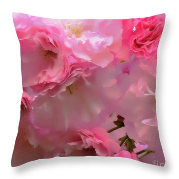 Spring With A Cherry On Top Throw Pillow