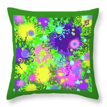 Springing Into Summer Throw Pillow