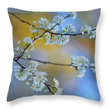 Springing To Life Throw Pillow
