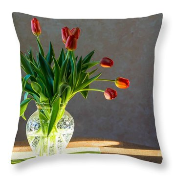 Springs Surprise Throw Pillow
