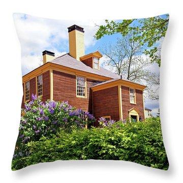 Springtime At Folsom Tavern Throw Pillow