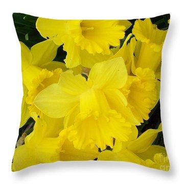 Springtime In Ireland Throw Pillow by Patrick J Murphy