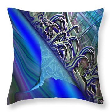 Sprinters Awl Throw Pillow