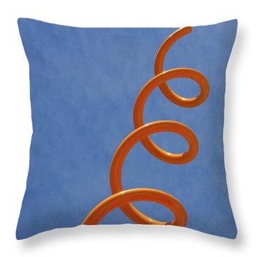 Throw Pillow featuring the photograph Sprung by Christina Lihani