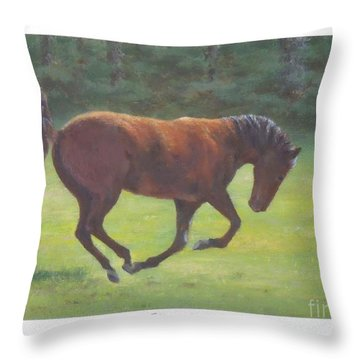 Sprung Throw Pillow