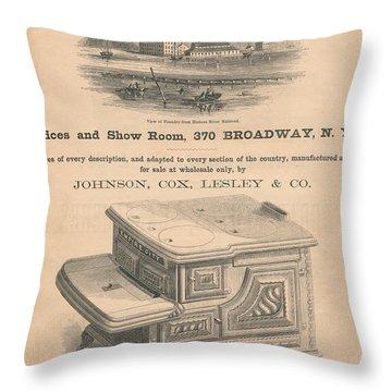 Spuyten Duyvil Stoveworks  Throw Pillow