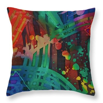 Squares And Other Shapes 2 Throw Pillow