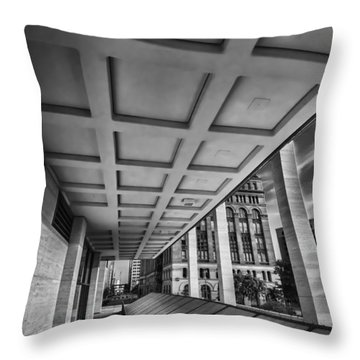 Squares Of Architecture   Throw Pillow