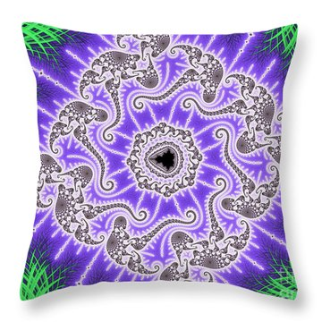 Squaring The Mset Throw Pillow