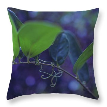 squiggle Vine Throw Pillow