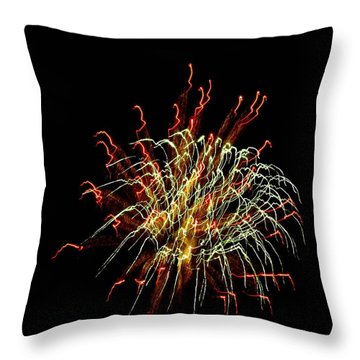 Squiggles 02 Throw Pillow by Pamela Critchlow