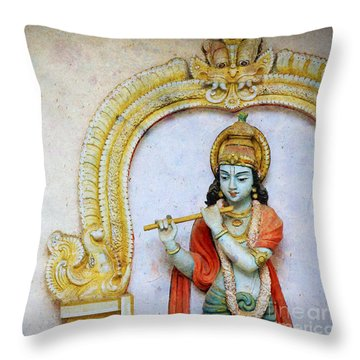 Sri Krishna Throw Pillow