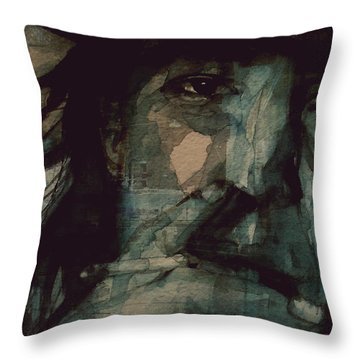 SRV Throw Pillow by Paul Lovering