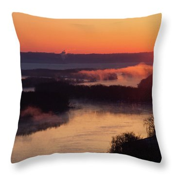 Srw-1 Throw Pillow