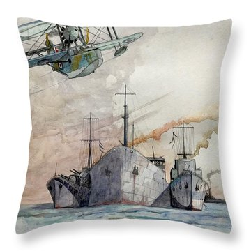 Ss Ohio IIi Throw Pillow