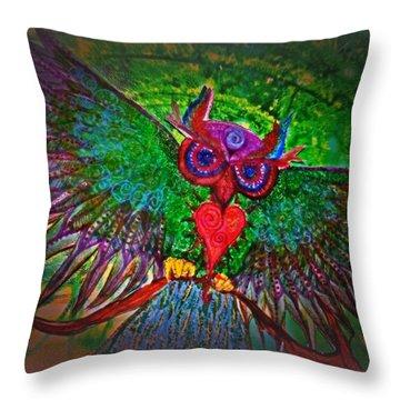 Ss Owl Throw Pillow