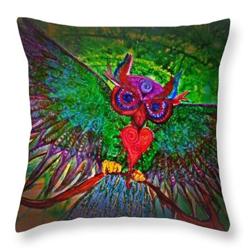 Ss Owl Throw Pillow