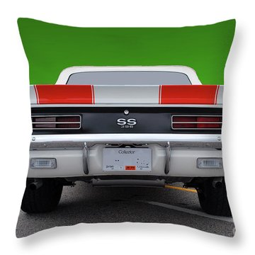 Throw Pillow featuring the photograph Ss Type by Bill Thomson