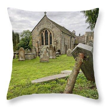 St Agathas Church Throw Pillow