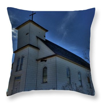 St Agnes Throw Pillow