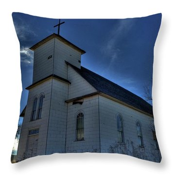 St Agnes Throw Pillow