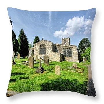 St Andrews Church Throw Pillow