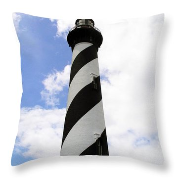 St. Augustine Light Throw Pillow by Allan  Hughes