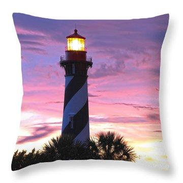 St. Augustine Light Throw Pillow