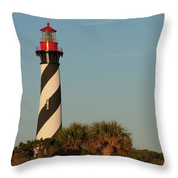 St. Augustine Lighthouse #3 Throw Pillow