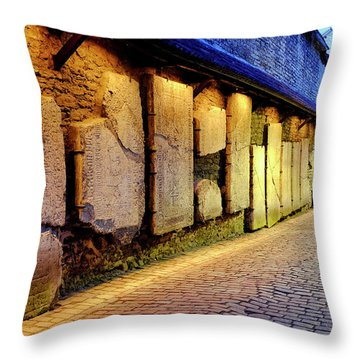 Throw Pillow featuring the photograph St. Catherine's Passage by Fabrizio Troiani