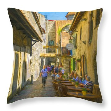 St. Catherine's Passage Throw Pillow