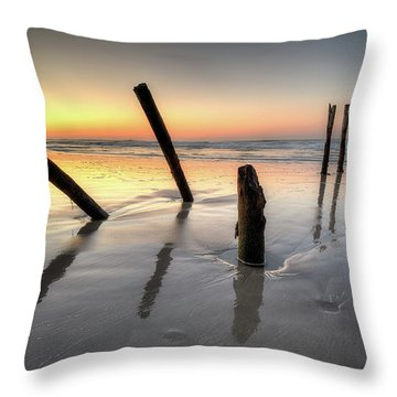 St Clair Sunset Throw Pillow