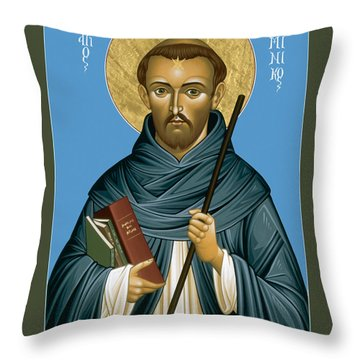 St. Dominic Guzman - Rldmg Throw Pillow