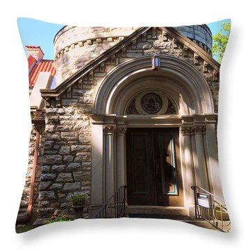 St Elizabeth's Catholic Church Throw Pillow