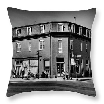 St. Elmos Antiques - Palouse Throw Pillow by David Patterson