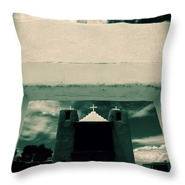 Channeling Ansel Throw Pillow