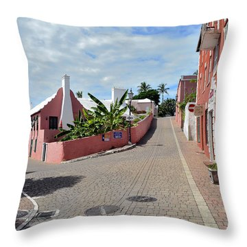 St George's Bermuda Throw Pillow