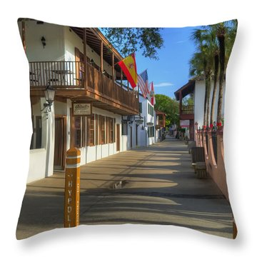 St George Street North Throw Pillow